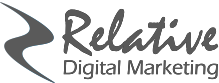 Relative Digital Marketing Logo gray