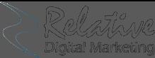 Relative Digital Marketing Logo gray