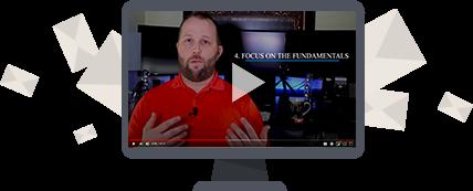 Chris Cudmore teaching seo on video