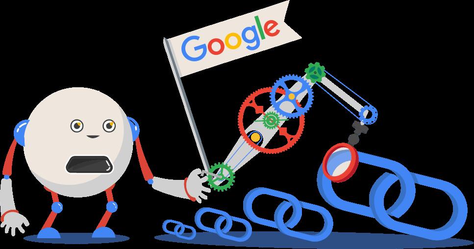 google checking links
