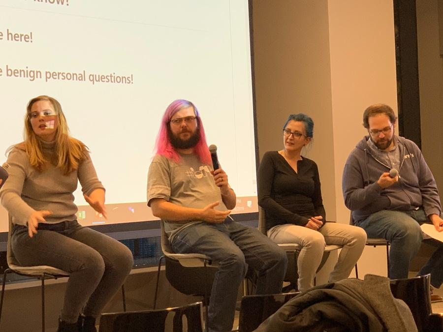 Google Meetup Alexis Sanders, Martin Splitt, Jamie Alberico, Paul Shapiro