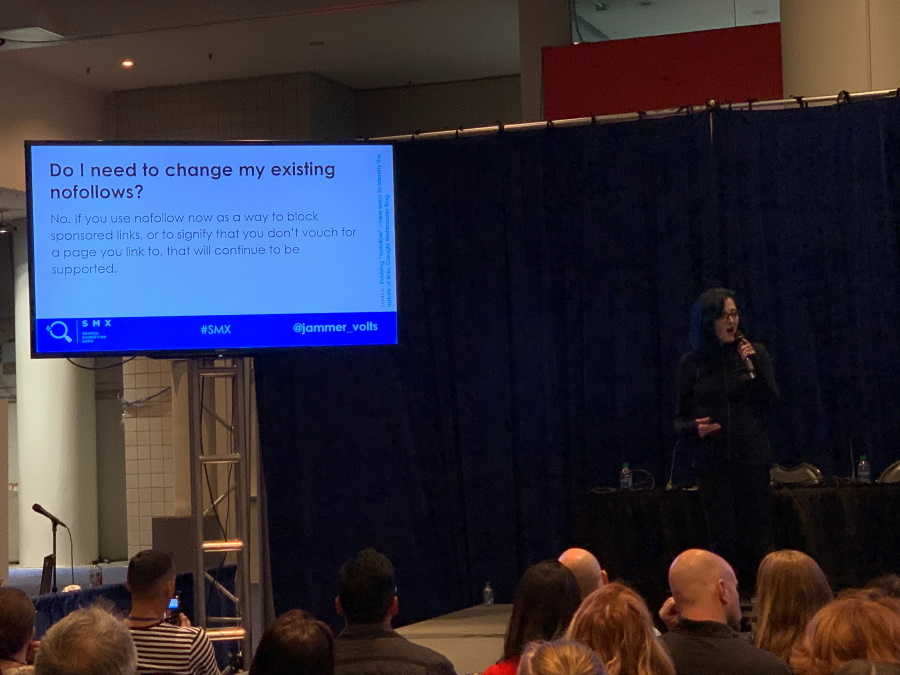 SMX East - Jamie Alberico speaking